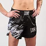 Leone 1947 Mujer, Mujer, Pantalón Corto Kick-Thai, AB803, Gris Camuflaje, XS