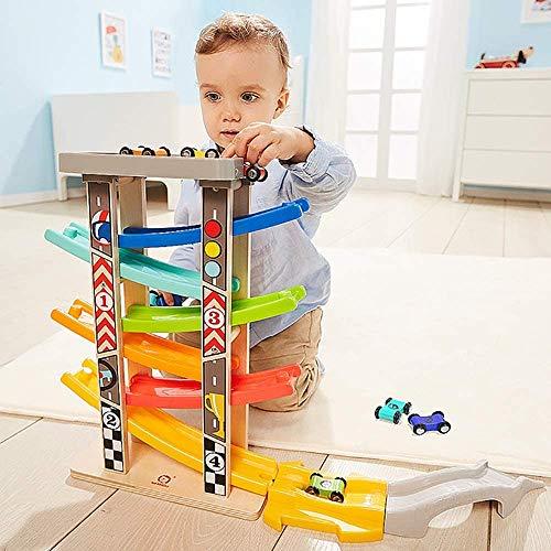 SYXX De los niños juguetes educativos, Educación Autovía Juguetes, Coches for niños, pistas de bebé del planeador del juguete, Niños 1-3, Kits de juguetes de bricolaje, regalo Educación de los