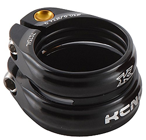 KCNC SC-13 Twin Seatpost Clamp 31.8mm / 27.2mm Alloy Bike Black sc13