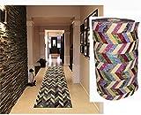 Comercial Candela Alfombra de Pasillo de Textil Resinado Antimanchas, Lavable   Base PVC A...