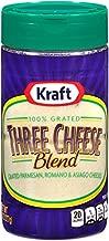 Kraft Grated Three Cheese Blend Shaker (8 oz Bottle)