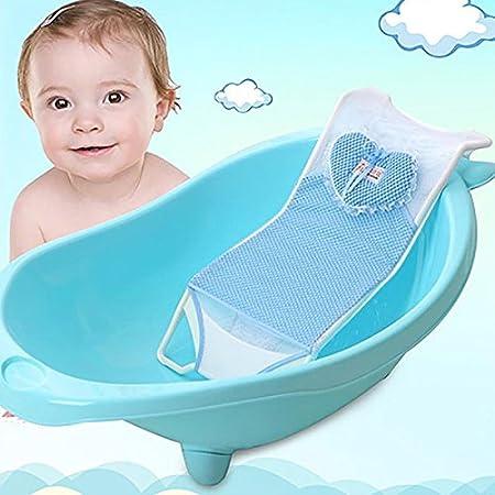 Neonato Neonato Bagno Rete Sedile Supporto Letto Antiscivolo Vasca Da Bagno Per Bambino Protezione Bagno Amazon It Prima Infanzia