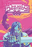 She Said Destroy 1 Jetpack Comics Forbidden Planet Exclusive Variant