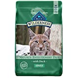 Blue Buffalo Wilderness High Protein, Natural Adult Dry Cat Food, Duck 11-lb