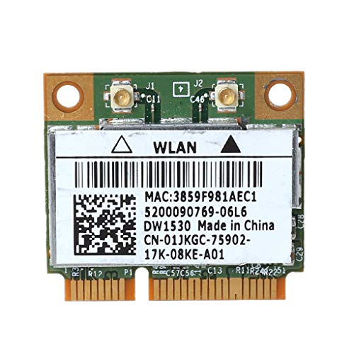 Ontracker BCM4322 DW1530 - Mini tarjeta Wi-Fi (802.11a / b / g / n, doble banda)
