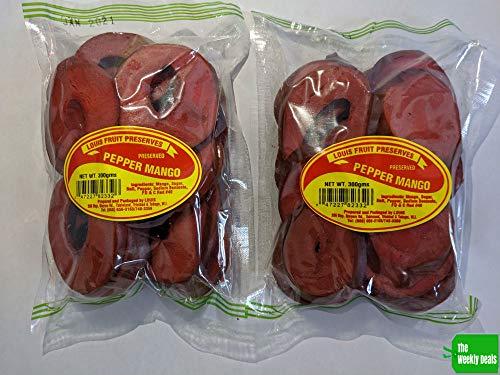 Louis - Pepper Mango 300 g (Pack of 2) Trinidad & Tobago Snack