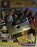 Minolta Vectis 100BF Point & Shoot Kamera, APS, Objektiv: 24 mm, Schwarz, Metallic Silber -