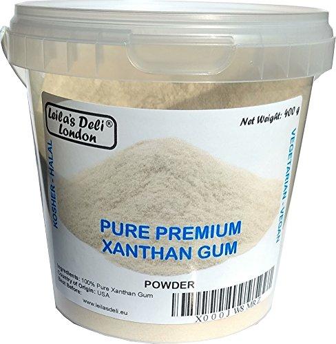 100% puro premio Xantano Gomma - grado A 400 g