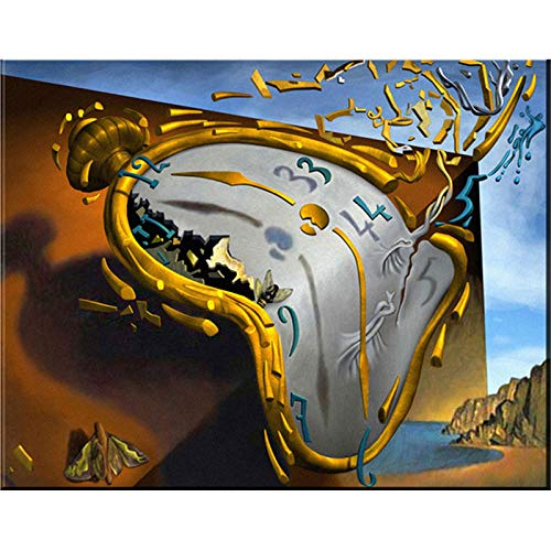 YSCOLOR Diamond Painting Bordado De Diamantes Diy Pinturas De Diamantes Reloj Hecho A Mano Con Diamantes De Imitación Pintura Pegada Decoración De La Habitación 30X40cm