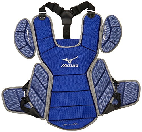 Mizuno Pro Chest Protector one-Size Royal-Grey