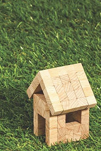 Hausbautagebuch: Dokumentiere deinen Traum vom Eigenheim: handliches 6x9 Format zum selber ausfüllen I Motiv: Gartenhaus