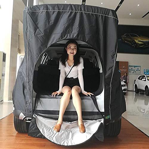 XTBB Dachzelt für Auto, Dach, hinten, Ausrüstung, Zelt, Canopy, Tail Ledger, Picknick, für Volkswagen Skoda Mazda Honda Toyota Nostandbar
