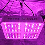 MORSEN LED Grow Light Full Spectrum 1200W Plant Growing Lights with Dual Switch & Dual LED Chips,...