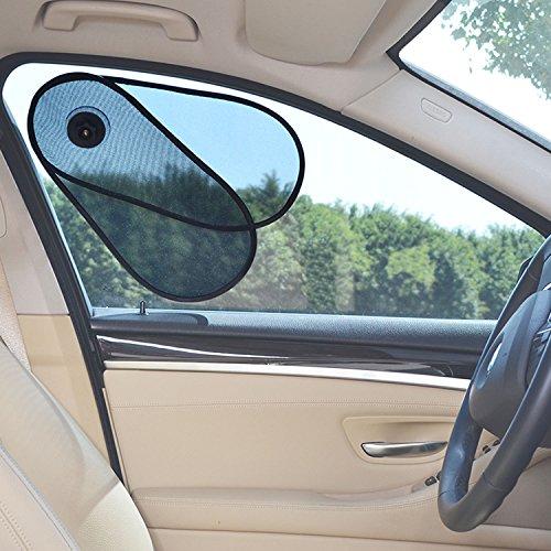 WANPOOL Autofenster Sonnenstrahlenblocker, Reduziert Blendung von dem Seiten und Frontfenster