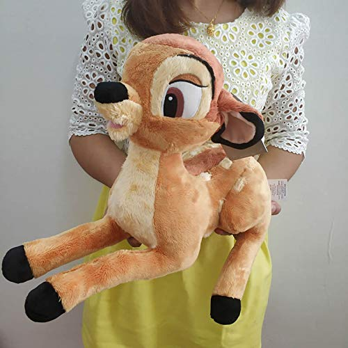 xuritaotao Cartoon Little Deer Bambi Baby Plüschtier Kuscheltier Weiche Puppe Für Geburtstagsgeschenk Für Kinder 35 cm