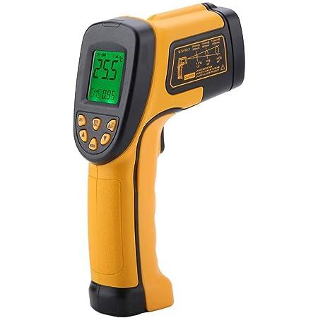 Digital Laser Infrared Thermometer Smart Sensor As842a Digital Non Contact Temperature Meter Instant Read Temperature Gun 50 C 600 C Lcd Lighting Beleuchtung