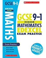 GCSE Higher Maths Edexcel Practice Book. Perfect for Home Learning and includes a free revision app (Scholastic GCSE Grades 9-1 Revision and Practice)