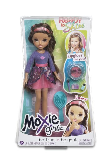 Moxie Girlz – Ready to Shine – Sophina – Poupée à Maquiller 20 cm