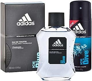 Adidas Men's Ice Dive EDT and Deodorant - Set of 2