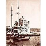 Ortakay Moschee Istanbul Türkei Barock ungerahmt Wandbild
