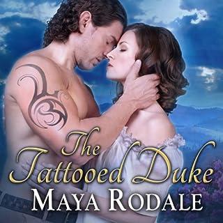 The Tattooed Duke audiobook cover art