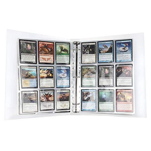 Lictin Album para Cartas- 30 Paginas 540 Cuadricula para Cartas, Género Neutro, Transparente