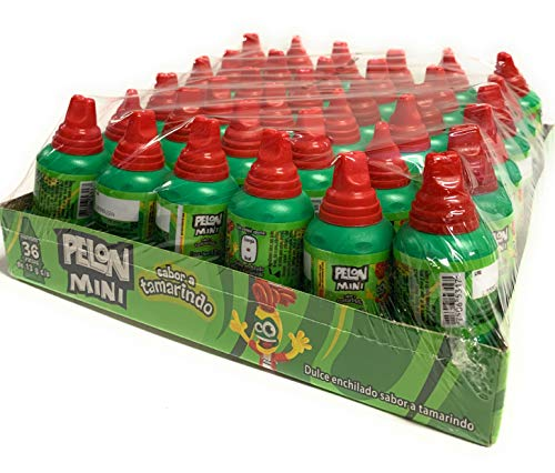 Tamarind Candy Flavor MINI Pelon Pelo Rico, Dulce De Tamarindo, 13 gr. (36 Pack)