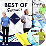 Beginner Exercise DVD: 6 Total Body Workouts + Resistance Bands. Fun, Easy to Follow, go at Your own pace. Great Low Impact Exercise DVD for Beginners. Perfect Workout Videos for Beginners at Home.
