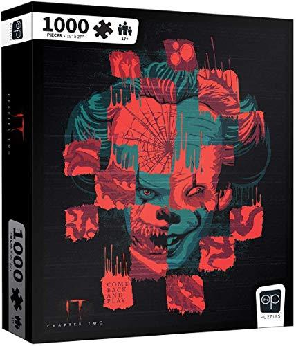 1000 piece clown puzzles - 1