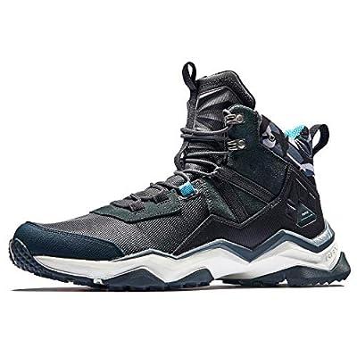 RAX Men's Lightweight Backpacking Hiking Boots (8 US) Black