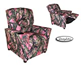 Dozydotes Cup Holder Recliner in True Timber MC2 Pink Camouflage