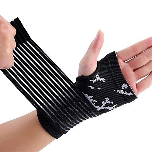 Männer Frauen Fitness Handgelenkschutz Arthritis Brace-Hülsen-Stützhandschuh atmungsaktiv elastische Palm Handhandgelenkauflagen (Color : B)