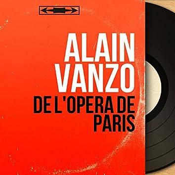 De l'opéra de Paris (feat. Louis Garzon et son orchestre) [Mono version]