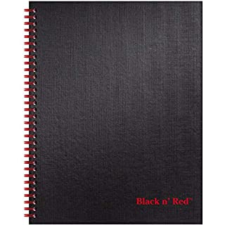 Mead Black n' Red Twin Wire Hardcover Business Notebook (K67030) (B0013CDD4Y) | Amazon price tracker / tracking, Amazon price history charts, Amazon price watches, Amazon price drop alerts