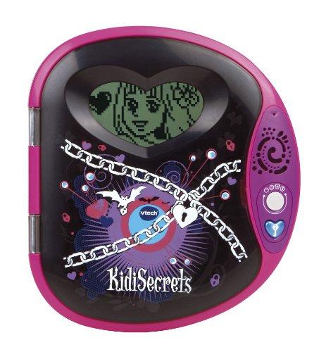 Vtech 133475 Kidi Secrets 2 elektronisches Tagebuch, Schwarz / Rosa