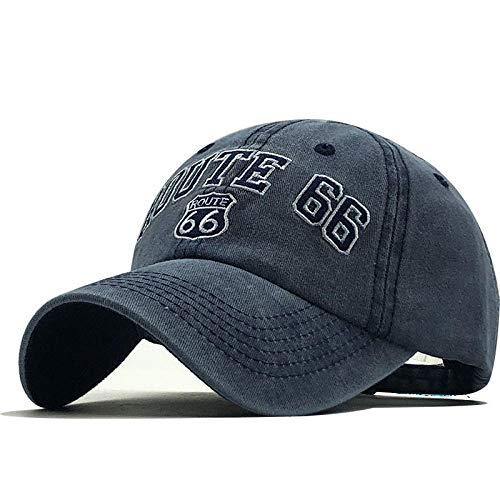 Unisex haftowane litery wędkarstwo mężczyźni czapka z daszkiem czapka z daszkiem typu snapback tata kapelusz hip-hop czapka rybaczka-granatowa