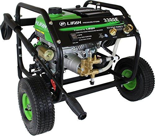 Lifan LFQ3370E Electric Start Pressure Washer, 3300 psi