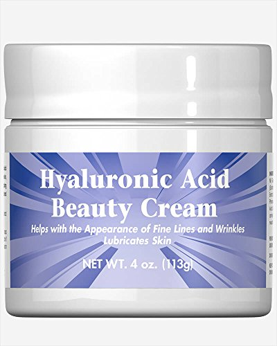 Puritan's Pride Hyaluronic Acid Beauty Cream-4 oz Cream