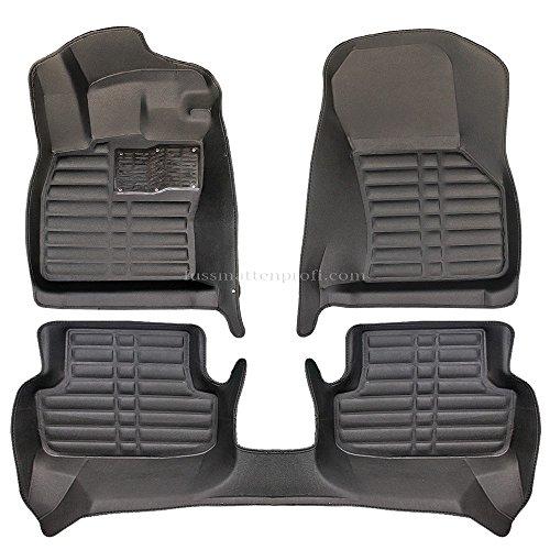 fussmattenprofi.com Tapis de Sol Voiture 3D Premium sur Mesure Adapté pour Audi A3 (8V) Année de Construction 2012-2020