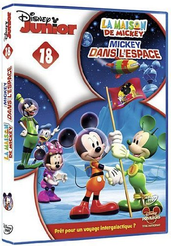 La Maison de Mickey-18-Mickey dans lespace