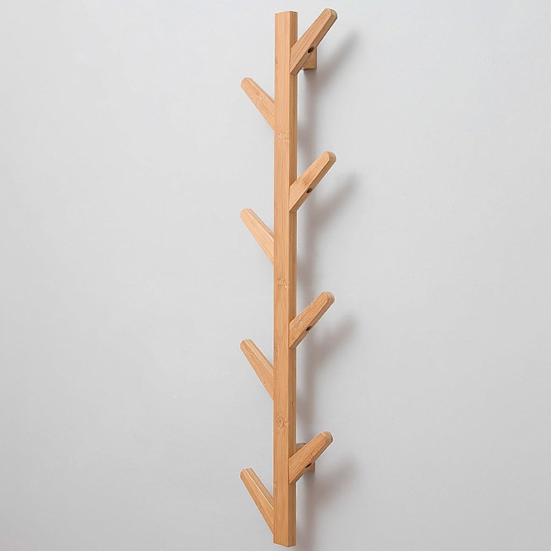 Coat Rack Wall Hanger Bedroom Wall Hanger Creative Door Clothes Hook Living Room Solid Wood Coat Rack (Size   A2)