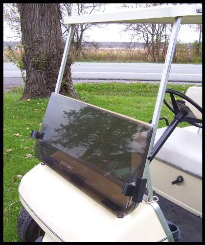 Franklin Sports Tinted Windshield for Club Car Golf Cart 1982 to 2000