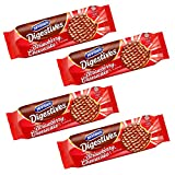 Mcvities Digestive Strawberry Cheesecake Flavour 243g (Pack of 6)