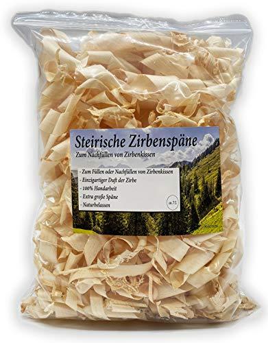 Hagson steirische Zirbenspäne zum Nachfüllen von Zirbenkissen, 7l Pack, Auffüllpack, Zirbenspäne, Zirbenflocken, Unbehandeltes Zirbenholz
