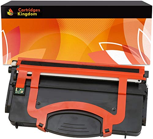 Cartridges Kingdom Schwarz Toner kompatibel für Lexmark E120, E120N