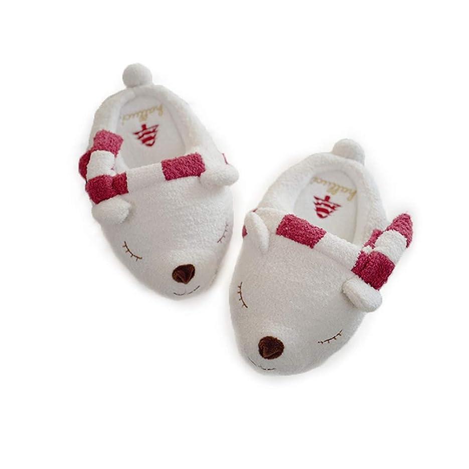 波フォーマットなくなる[サニーサニー] かわいい スリッパ 秋冬 レディース ルームシューズ 動物型 シロクマ 3D 可愛い ふわふわ もこもこ あったかい 肌触り優しい 消音タイプ 軽量 防滑 洗える 部屋用 室内履き クリスマス プレゼント