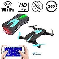 Gleemax 720p HD Mini WiFi Remote-Controlled Drone with Camera 2MP HD Camera