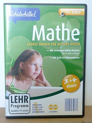 Schülerhilfe Mathe 3. und 4. Klasse PC-Kids Lehrprogramm