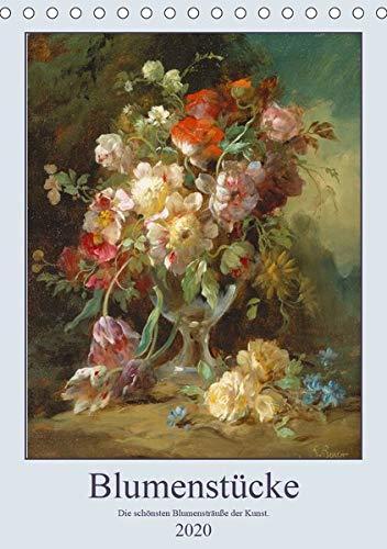 Blumenstücke 2020 (Tischkalender 2020 DIN A5 hoch): Die schönsten Blumensträuße der Kunst. (Monatskalender, 14 Seiten ) (CALVENDO Kunst)