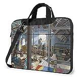 XCNGG Rise Planet Apes Laptop Bag Tablet Maletín portátil Funda protectora Funda Messenger Bags 15.6 pulgadas